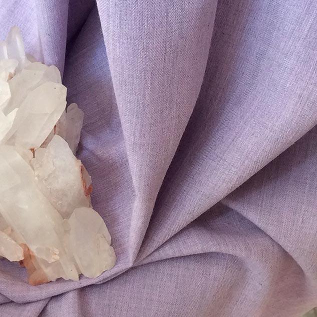 Tissu chevron violet