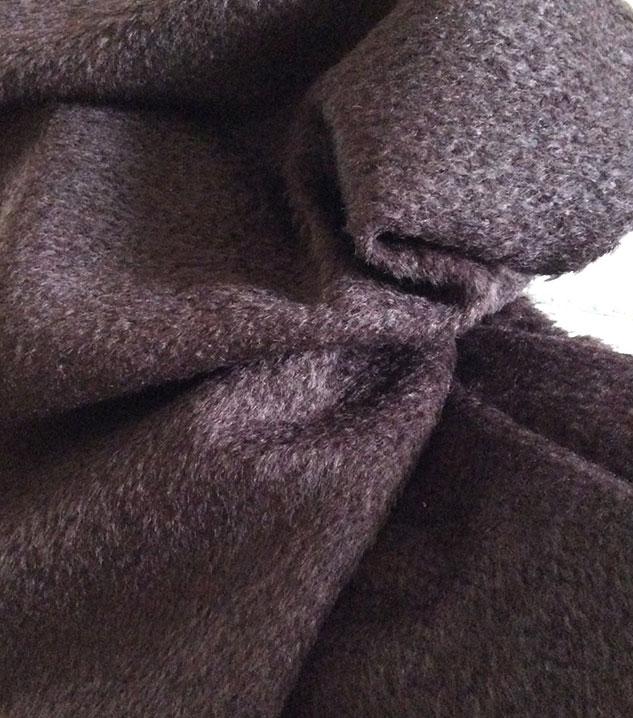 Tissu pour plaid mohair