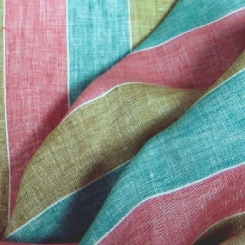 Tissu rayé tissu vintage