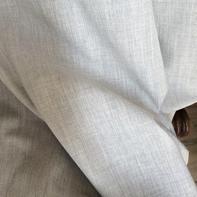 Tissu rideau gris chiné