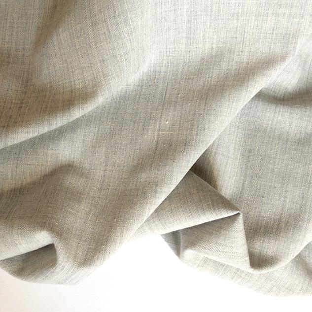 Tissu chevron gris chiné