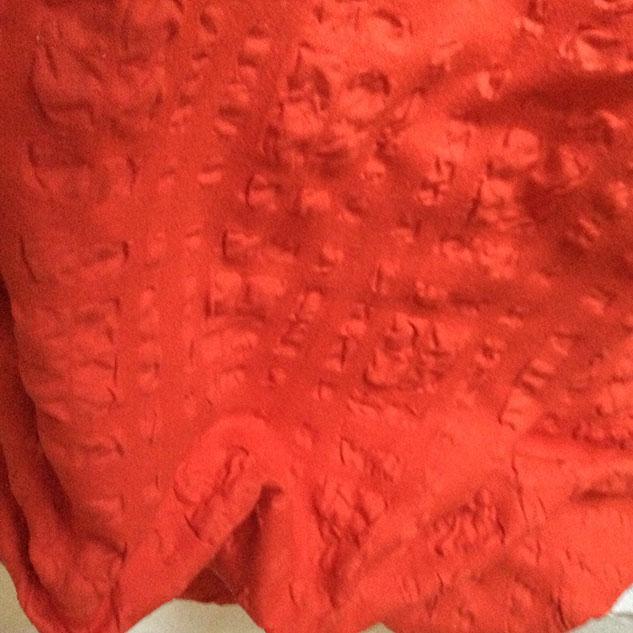 tissu rideaux orangé tissu ameublement