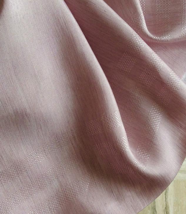 tissu rose brillant pour rideaux