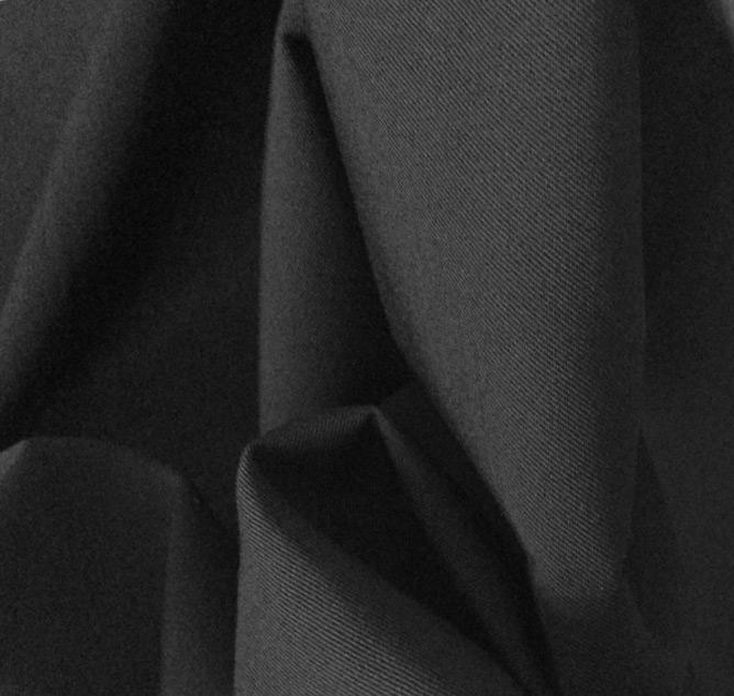 tissu de décoration noir