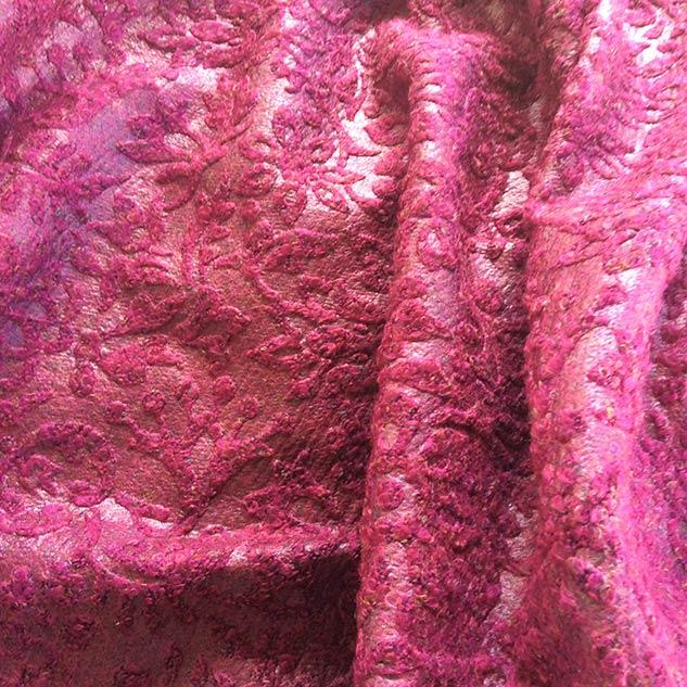 Tissu à relief baroque