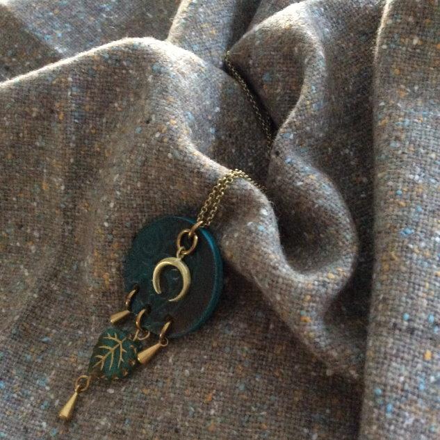 tweed en laine gris chiné