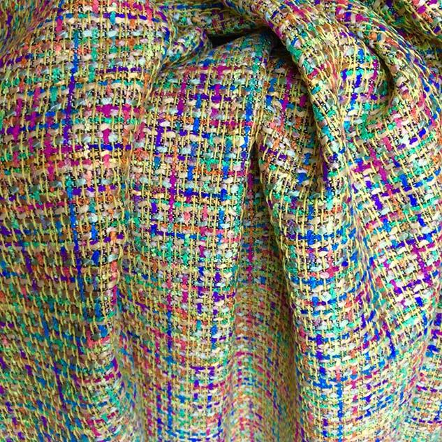 Tissu tweed décoration