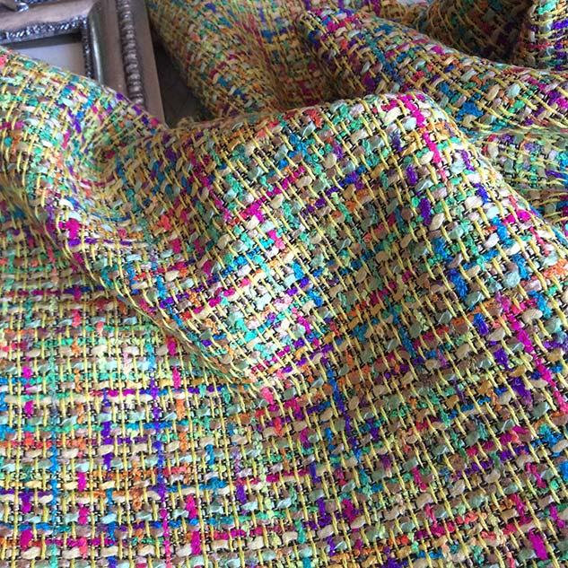 Tissu tweed pour ameublement