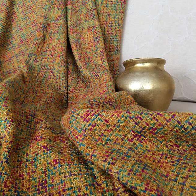 Tissu tweed ameublement