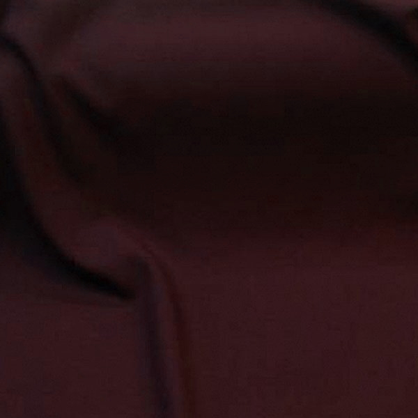Tissu habillement polyester laine extensible uni prune