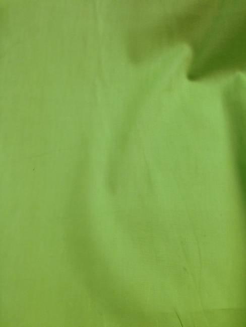 Tissu coton popeline vert anis, chemisier