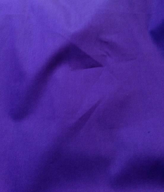 Tissu coton popeline violet