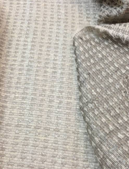 Tissu mohair jacquard gris