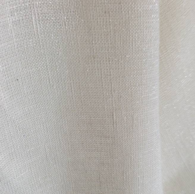 tissu blanc pailleté