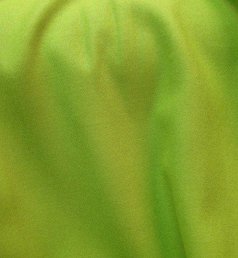 Tissu flanelle de laine peignée vert anis