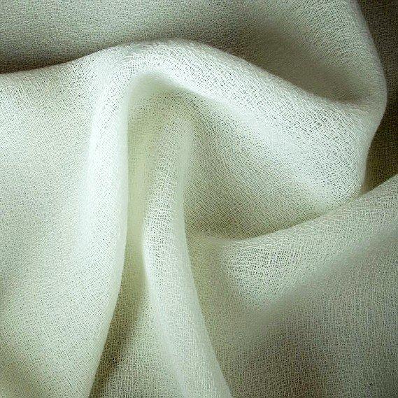 Tissu polyester laine crepeline