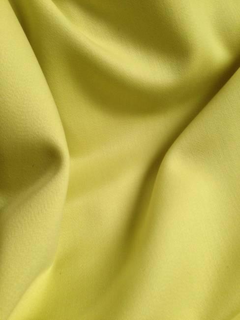 Rideau satin de laine tissu au metre vert anis