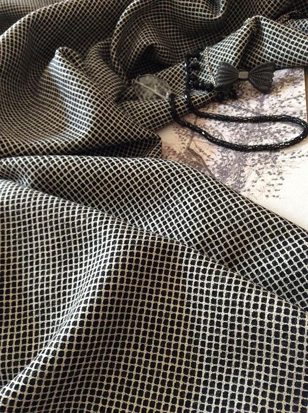 tissu tailleur petits carreaux