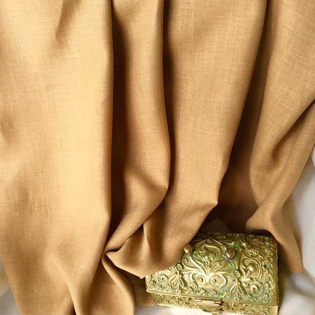Tissu toile de lin Cardailhac