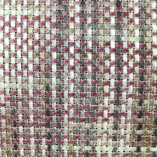 tissu tweed rose au metre