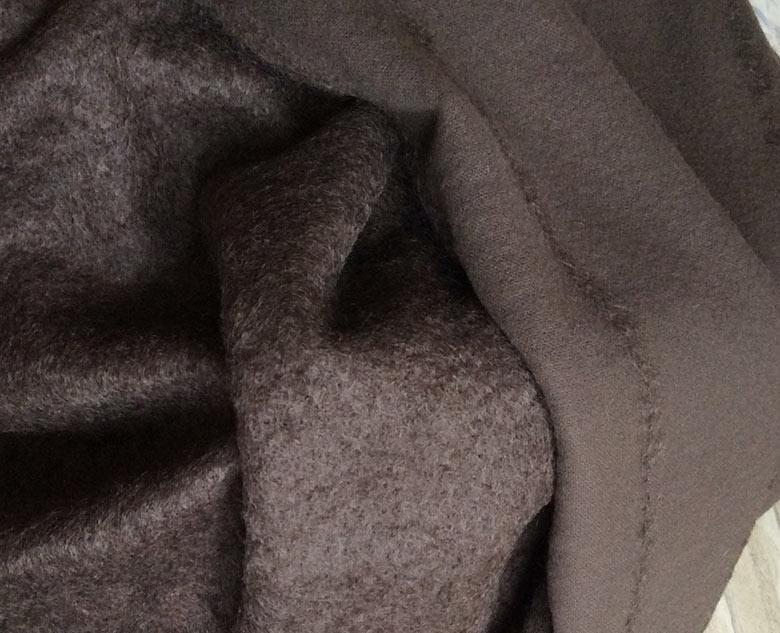 mohair tissu chaud