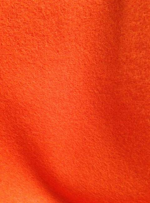 Drap de laine bouillie orange tissu au metre vente de - Tissu pour drap ...