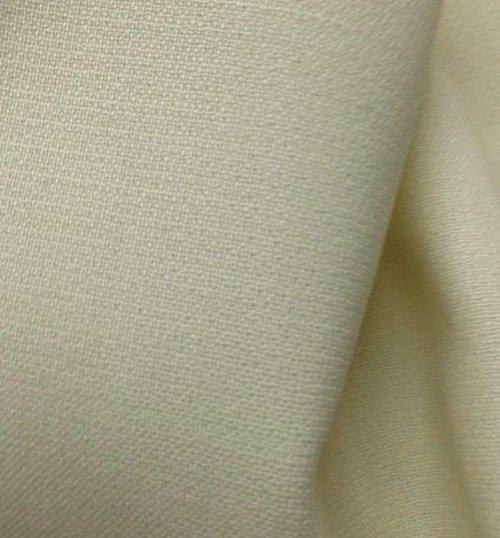 tissu au metre crepe de laine pour rideaux cru tissus au metre vente de tissus. Black Bedroom Furniture Sets. Home Design Ideas