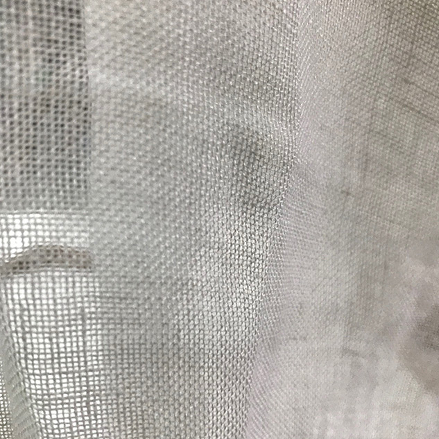 voilage au metre tissus ameublement de qualit tissu lin blanc. Black Bedroom Furniture Sets. Home Design Ideas