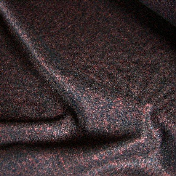 Tissu au metre flanelle laine viscose bordeaux tissus au - Tissu ameublement au metre ...