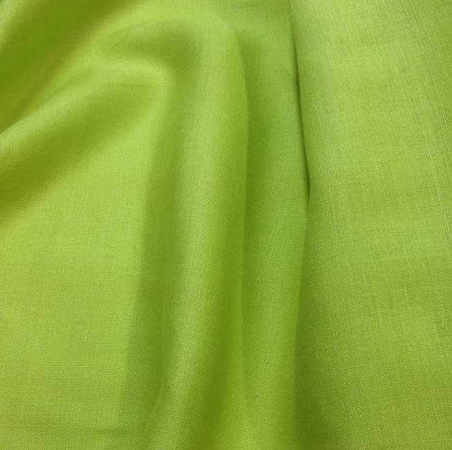 tissu au metre lin toile pour habillement vert anis tissus au metre vente de tissus. Black Bedroom Furniture Sets. Home Design Ideas