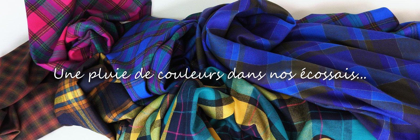 Tissu écossais vente de tissus au metre