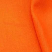 Bâche de tissu en lin orange