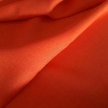 tissu orange rouille