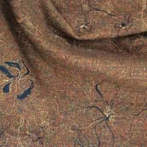 Tissu tweed vintage imprimé bouton