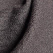 tissu laine bouillie gris
