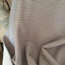 Drap de laine tissu tapissier gris