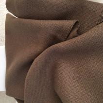 tissu pour fauteuil canapé tissu marron grosse toile