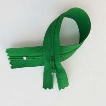 Fermeture à glissière curseur bloquant  Verte