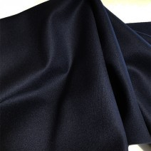 tissu bleu marine flanelle de laine