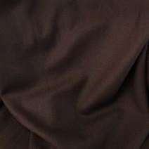 flanelle de laine marron foncé cardailhac