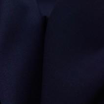 Tissu crêpe de laine envers satin Marine