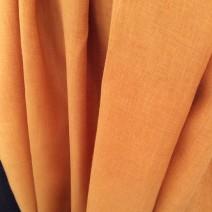 tissu jaune curry pour rideau