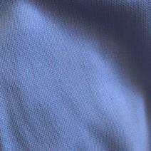 Tissu polyester bleu