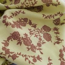tissu imprimé de roses