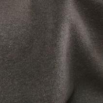 Tissu cachemire à poils couchés chocolat
