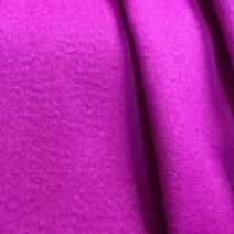 tissu cachemire fushia manteau