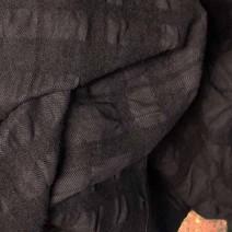 tissu chocolat cloqué