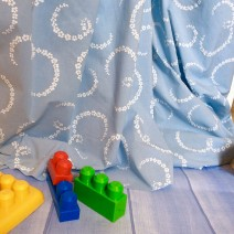 tissu rideau enfant
