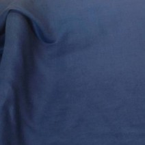 Tissu coton voile bleu