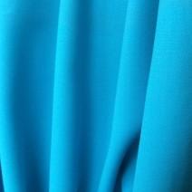 tissu crepe de laine bleu lagon, jupes, vestes